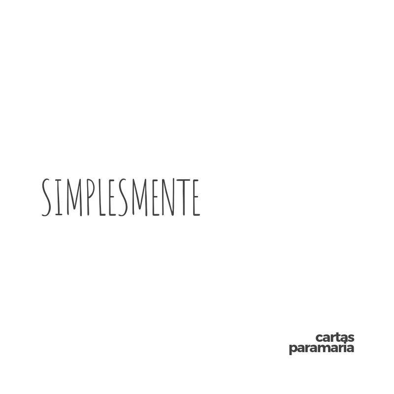 Simplesmente | Allan Dias Castro