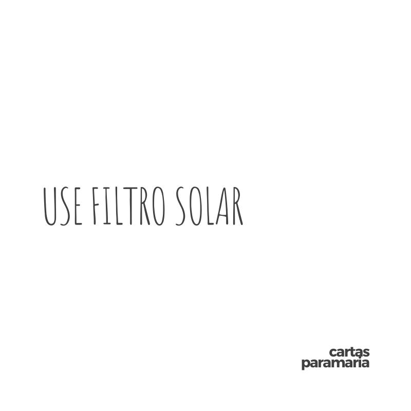 use filtro solar | Pedro Bial