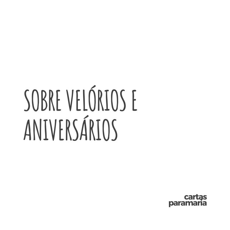sobre velórios e aniversários | Allan Dias Castro