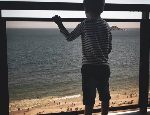 O nosso Francisco conheceu o mar