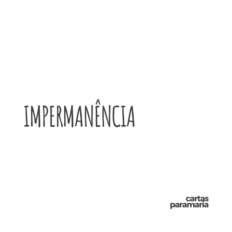 impermanência | Allan Dias Castro